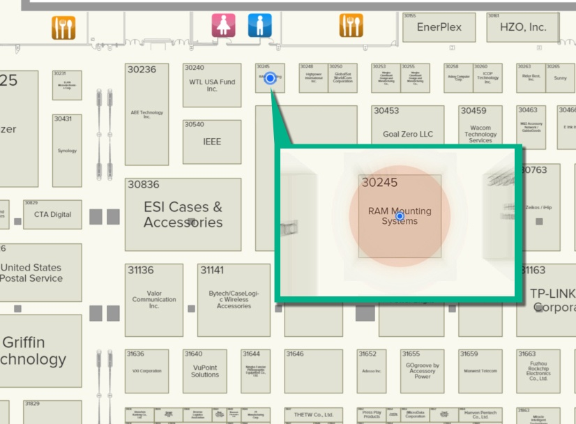Looking for RAM Mounts at CES? We're in the South Hall right here!