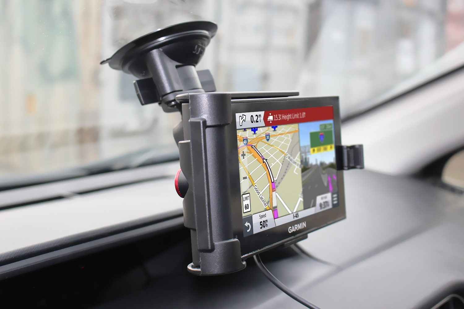 New Cradle for Garmin nüviCam and dēzlCam