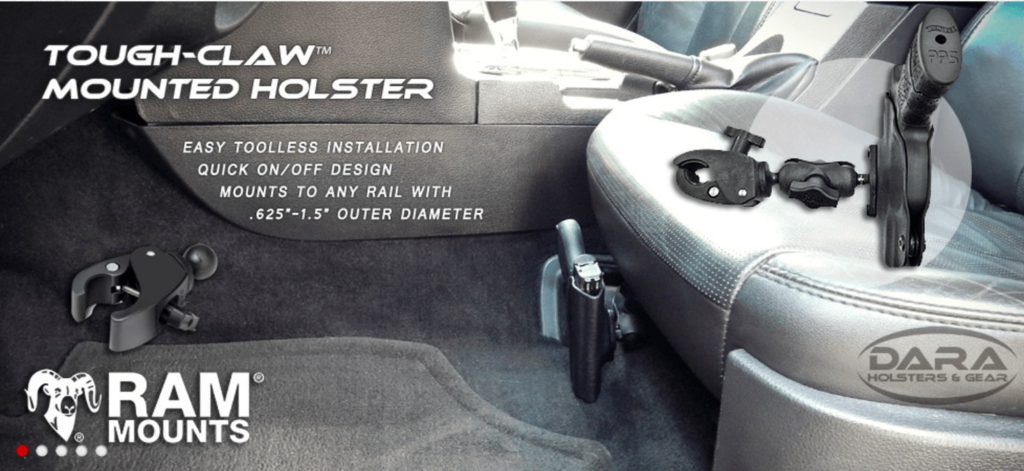 DARA Holsters Finds Secure Storage Option with RAM® Mounts