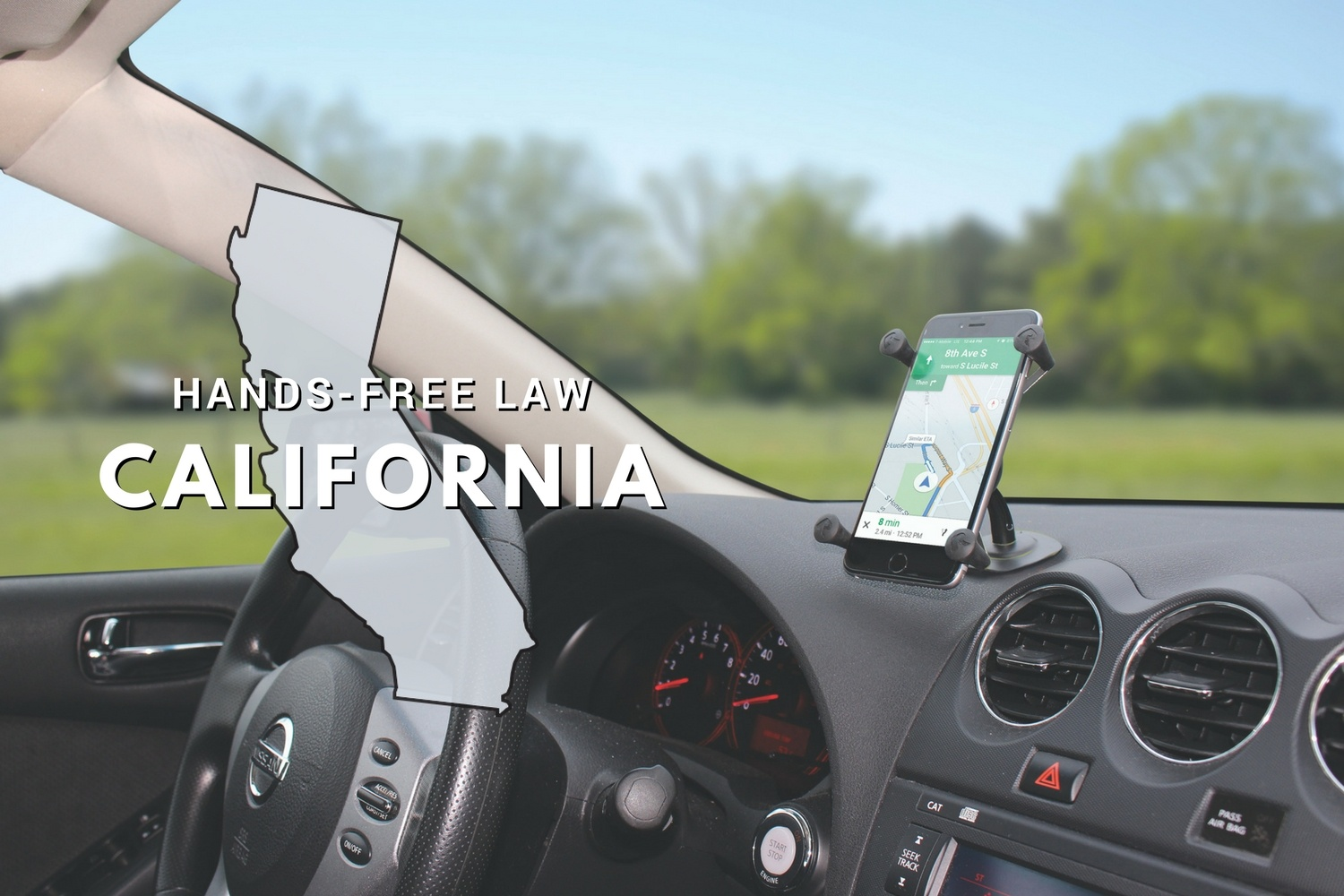 California Hands Free Law