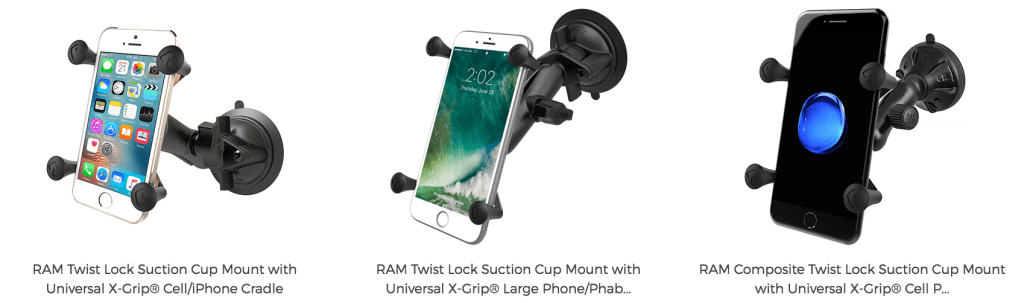 Windshield RAM Mounts