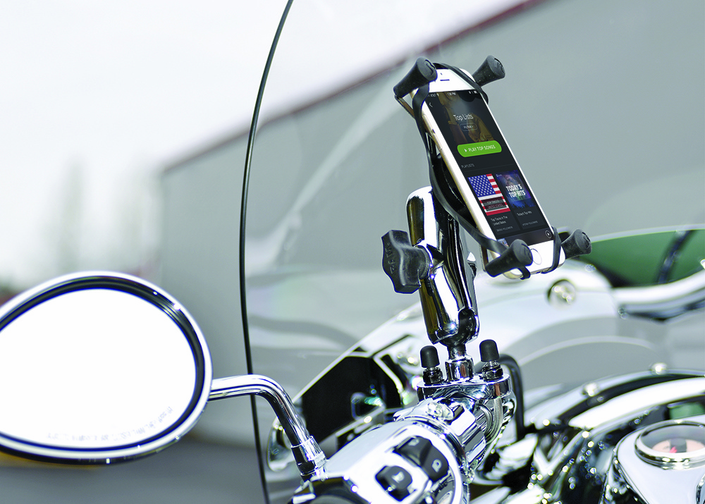 RAM Mounts Chrome Motorcycle