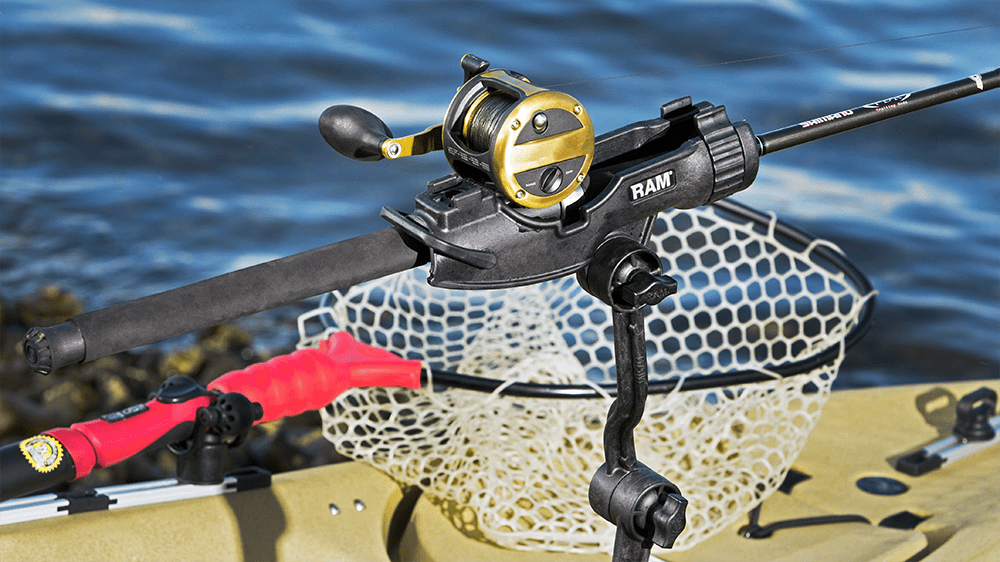 Now Available: RAM ROD<small><sup>®</sup></small> HD and JR Fishing Rod Holders