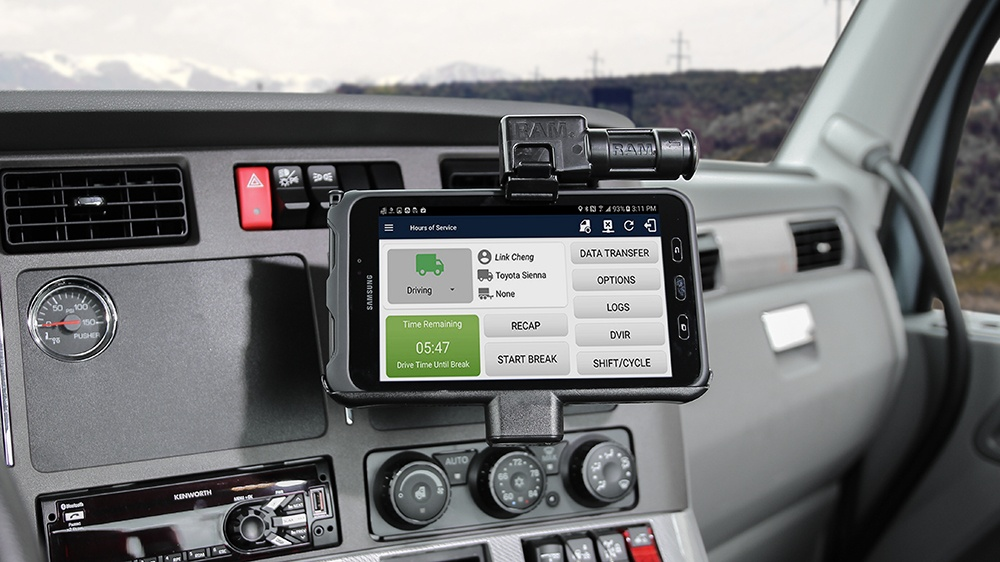 Mount Of The Month Samsung Galaxy Tab Active2 Powered Vehicle Cradles And Intelliskin