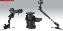 The RAM<small><sup>®</sup></small> Track-Node<small><sup>™</sup></small> Adjustable Base: A New Twist for Action Cameras and Fishing Rod Holders