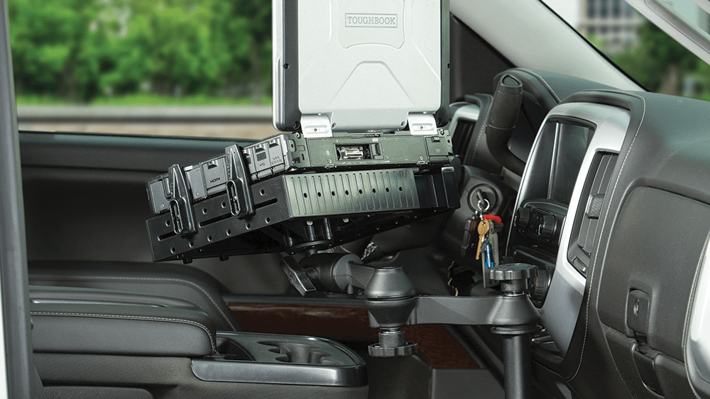 Mount of the Month: RAM® No-Drill™ Laptop Mounts