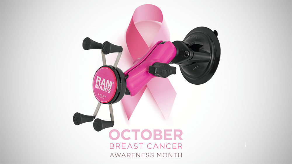 Help Us Support Breast Cancer Awareness Month: Pink RAM<small><sup>®</sup></small> X-Grip<small><sup>®</sup></small>