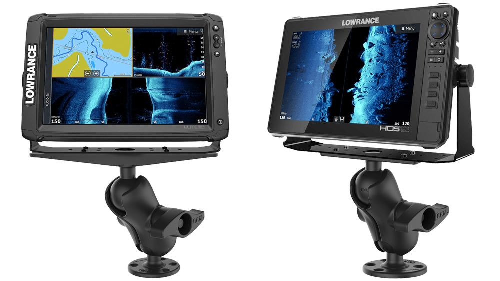 Fishfinder, Rod Holder, Device Mounts For Powerboats | RAM® Mounts