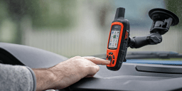 Now Available: Spine Clip Holder for Garmin Handheld Devices