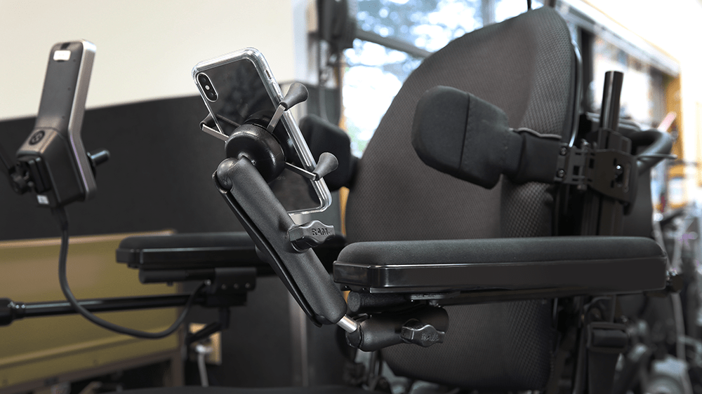 Mount Of The Month Wheelchair Mounts For Seat And Armrest Tracks