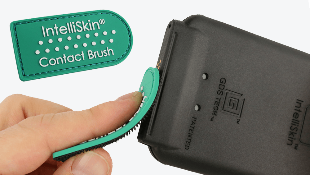 Now Available: IntelliSkin<small><sup>®</sup></small> with GDS<small><sup>®</sup></small> Tech<small><sup>™</sup></small> Contact Brush