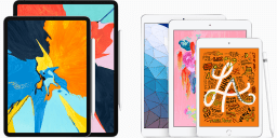 Apple iPad Air 3 and iPad mini 5: Compatible RAM<small><sup>®</sup></small> Mounts