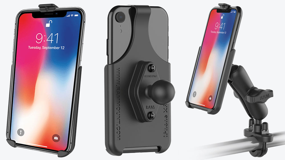 Mount of the Month: RAM<small><sup>®</sup></small> Form-Fit Cradles for the Apple iPhone X, XR, XS, and XS Max