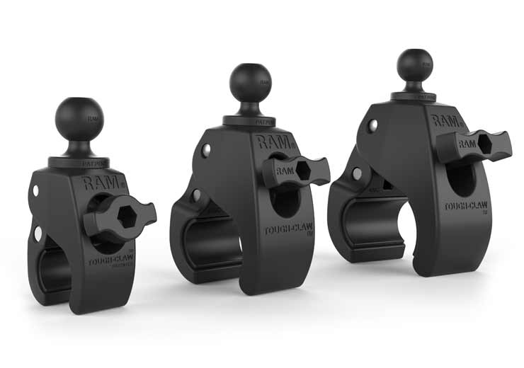 RAM Mounts Tough-Claw clamping mount