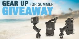 Gear Up for Summer Giveaway: How to Enter for a Chance to Win Popular RAM<small><sup>®</sup></small> Mounts