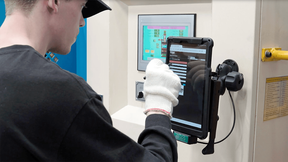 GDS® Tech™ and Samsung Devices Increase Manufacturing Efficiencies at NPI
