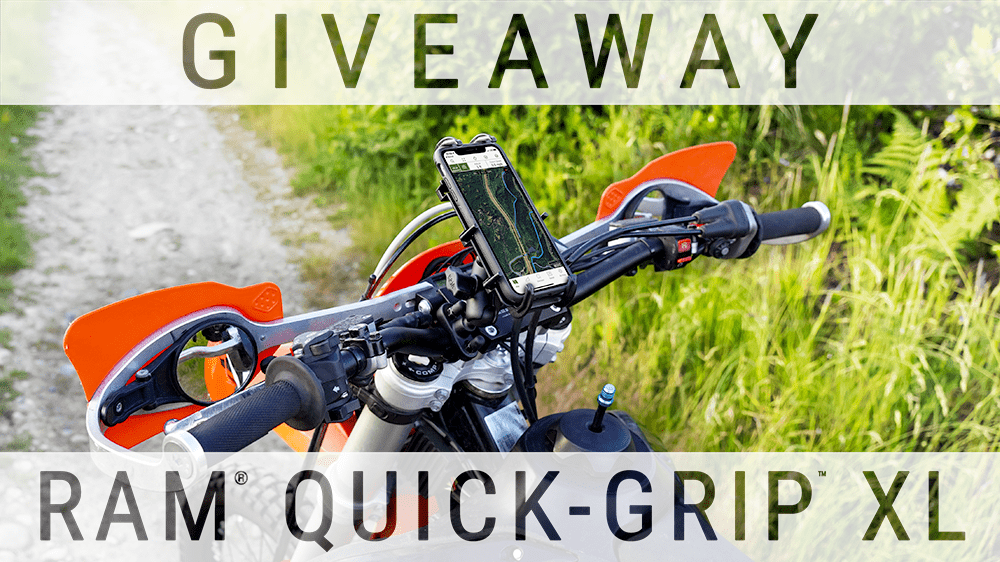How You Can Win a RAM<small></noscript><sup>®</sup></small> Quick-Grip<small><sup>™</sup></small> XL Handlebar U-Bolt Base Mounting Kit