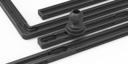 Mount of the Month: Modular Black Anodized Aluminum RAM<small><sup>®</sup></small> Tough-Track<small><sup>™</sup></small>