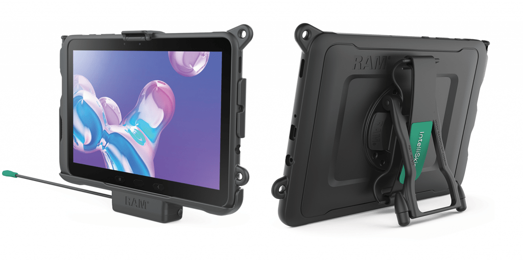 RAM Mounts Skin and EZ-Roll'r Cradle for Tab Active Pro