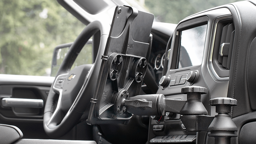 New 2020 Vehicle Compatibility for RAM<small><sup>®</sup></small> No-Drill<small><sup>™</sup></small> Laptop and Tablet Mounts