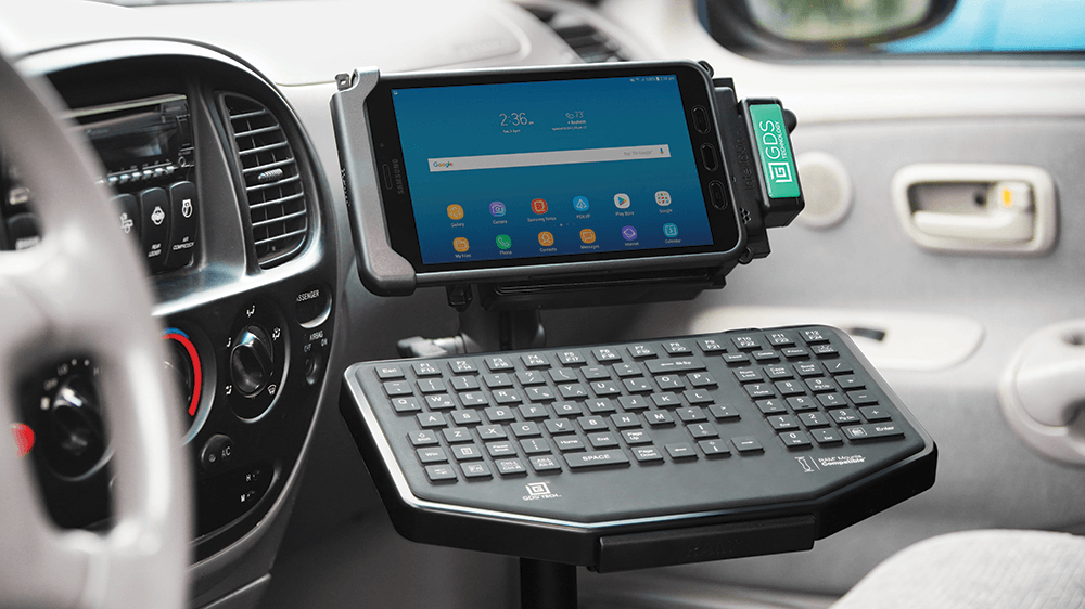 GDS® Technology™ and Mounting Solutions for Public Safety Vehicles