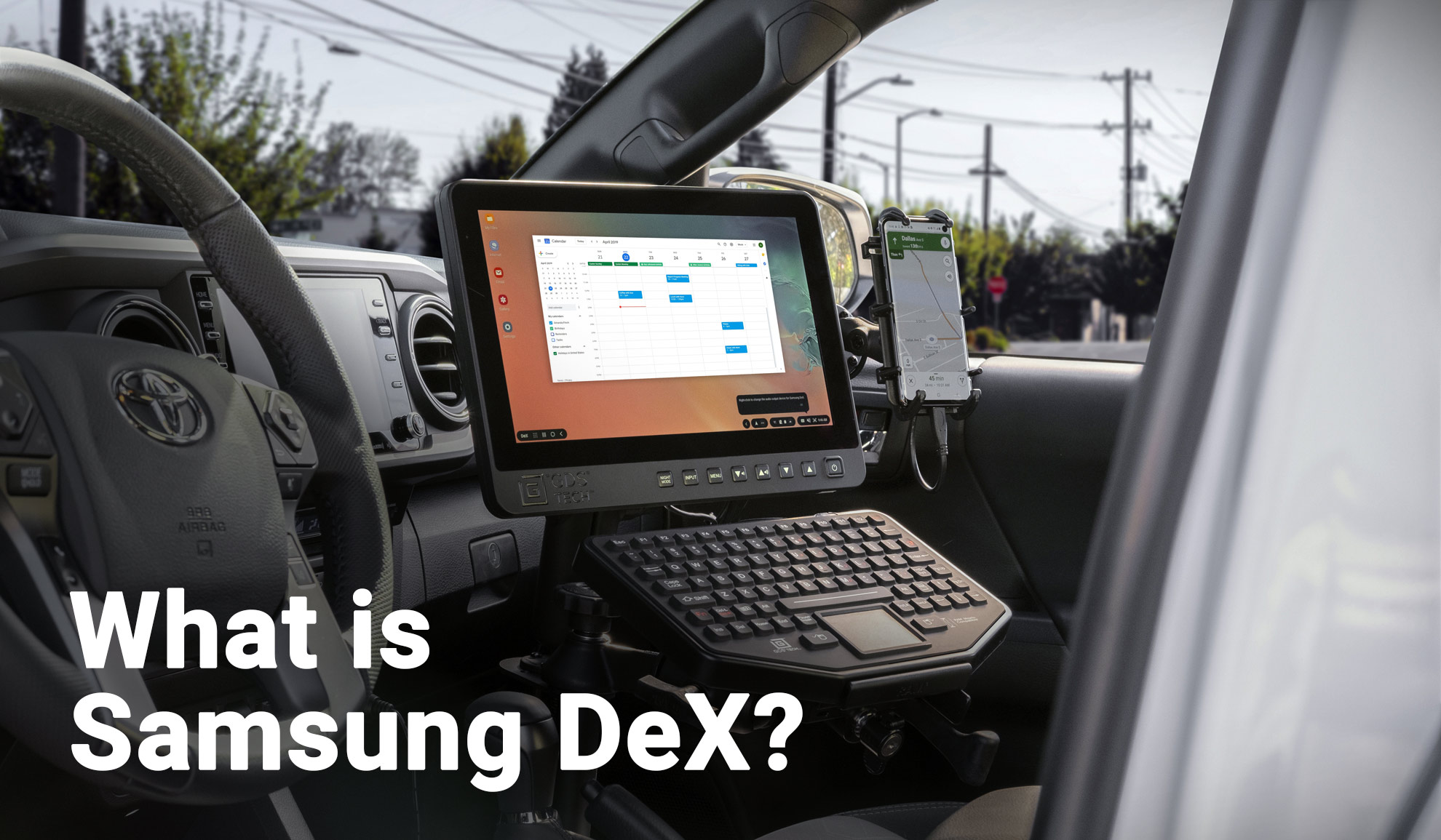Getting Started: How to Use Samsung DeX with RAM® Mounts