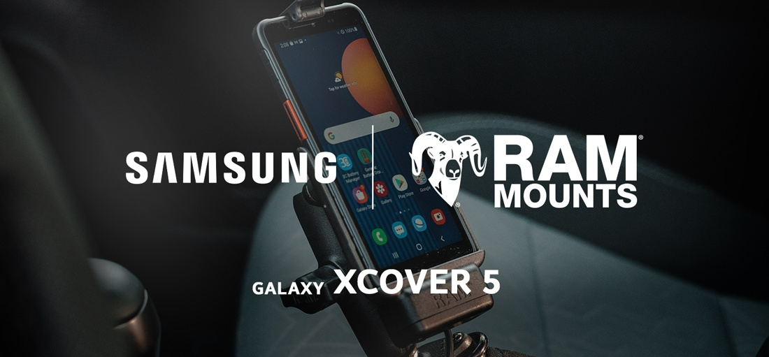 RAM® Mounts Releases Rugged Docks for New Samsung Galaxy XCover 5
