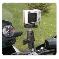 BMW R1150 GS Adventure Casio Camera Mount