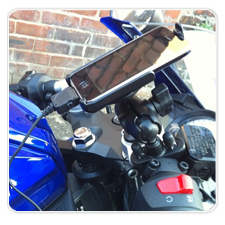 iPhone 3G Motorcycle Handlebar Mount