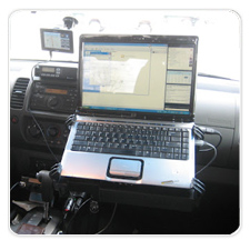 Laptop Mount for Nissan Xterra