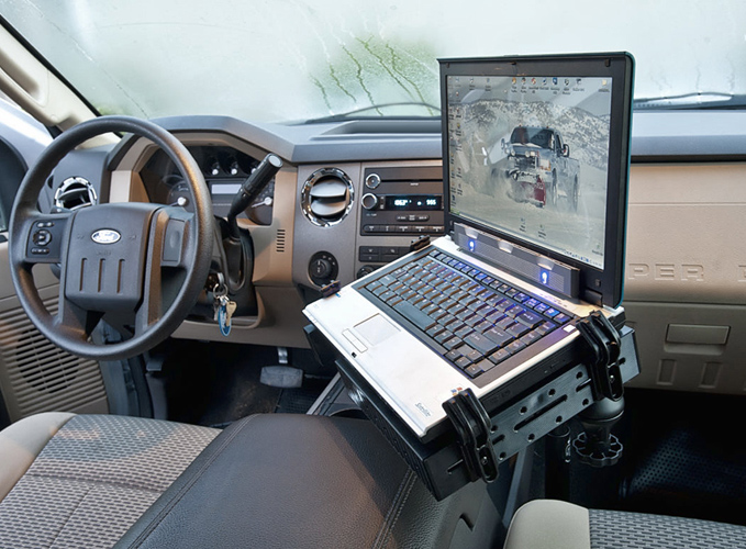 F 450 King Ranch >> Ford Super Duty Truck Laptop Mount