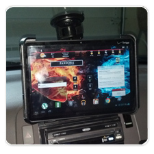 RAM Mount Tab-Tite for the Motorola XOOM: In Car Tablet Mount