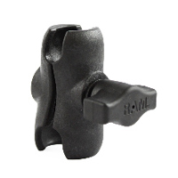 "RAM Composite Short Length Double Socket Arm for 1"" Ball Bases"