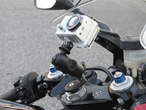 GoPro on Fork Stem