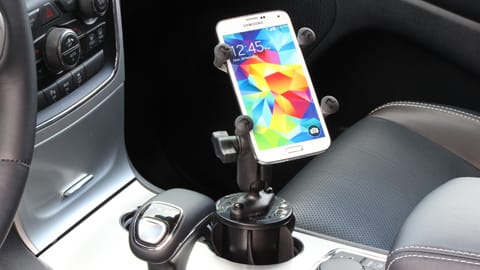 Stubby Cup holder mount