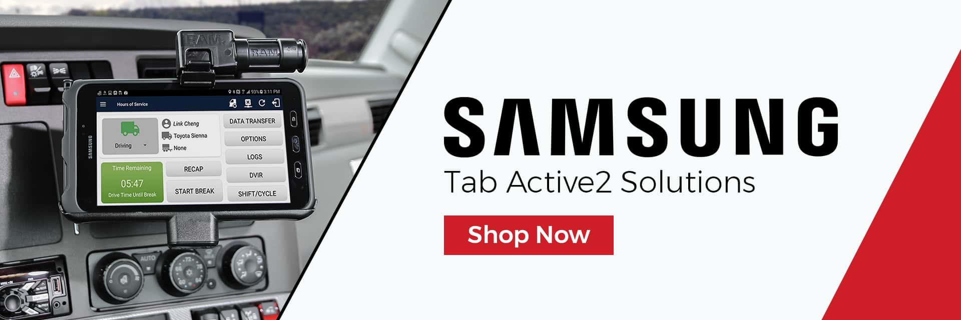 Samsung Tab Active2 Mounts