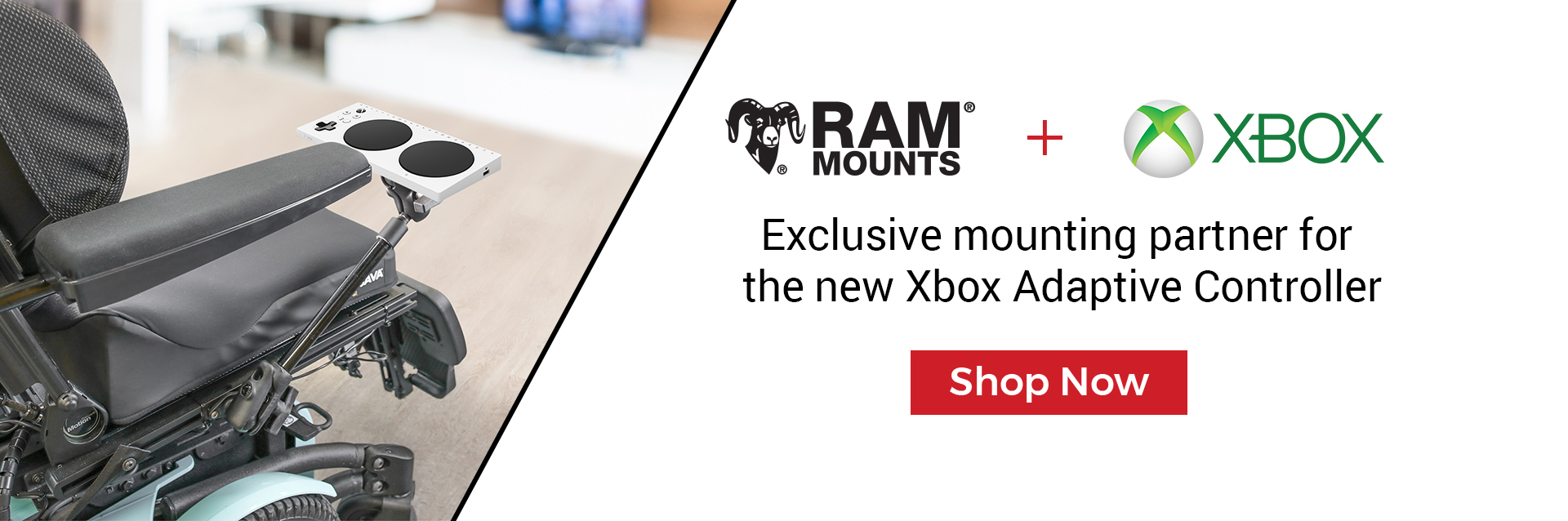 X-Box controller accessibility mounts