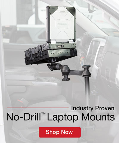 No Drill Laptop Mounts