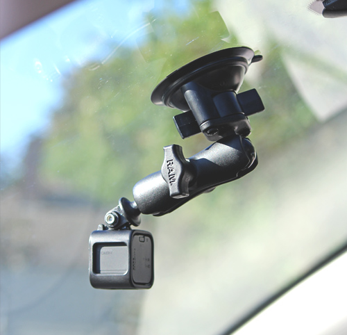 GoPro HERO4 Session Suction Cup Mount