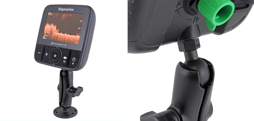 Drill-Down Mount for Raymarine Dragonfly
