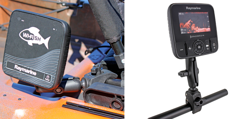 Tough-Claw™ Mount for Raymarine Dragonfly