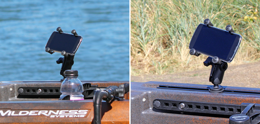 Track Rail Mount with X-Grip® Phone Cradle