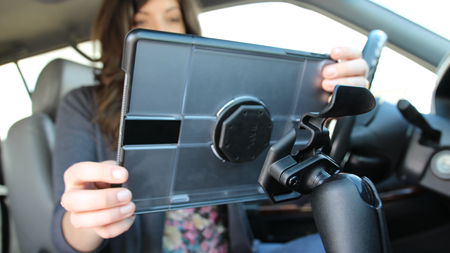 iPad Quick Release and Vehicle Mount
