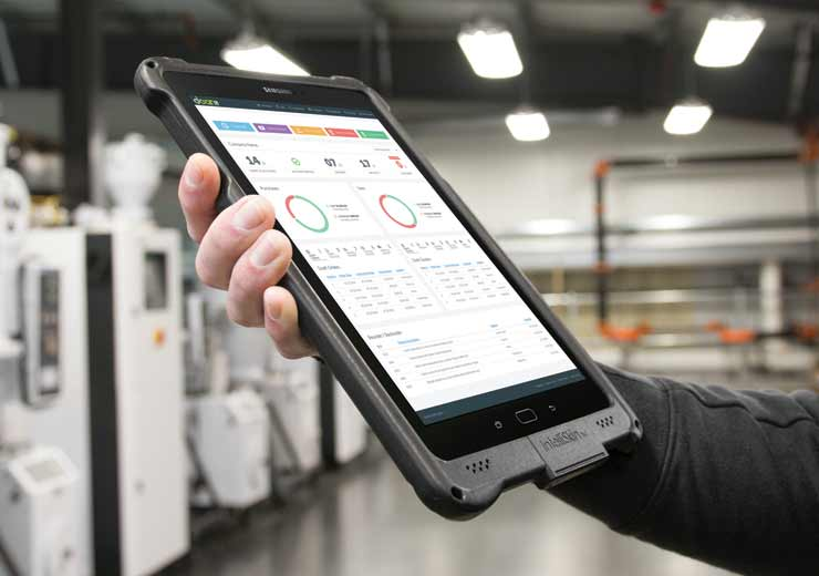 IntelliSkin® and GDS® Technology™ with a tablet