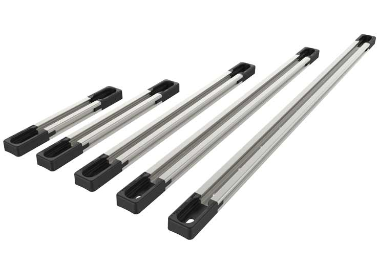 Mdular Aluminum RAM® Tough-Track™ in 5 different lengths