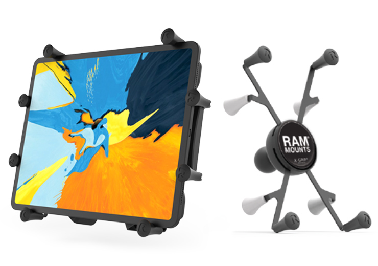 RAM® X-Grip® and RAM® X-Grip® with a tablet