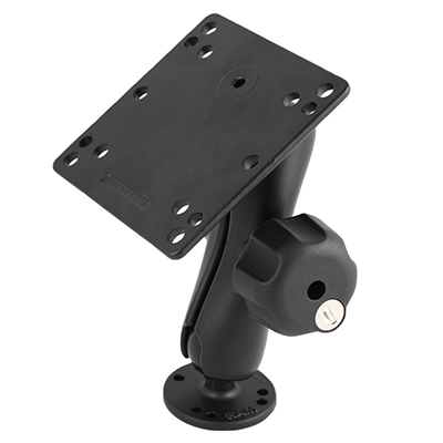 RAM-101LU-246 - RAM Key Lock Mount with 100x100mm VESA Plate