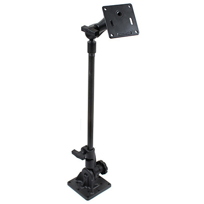 "RAM-101U-UK3 - RAM Pedestal Mount with 18"" Pipe and 75x75mm VESA Plate"