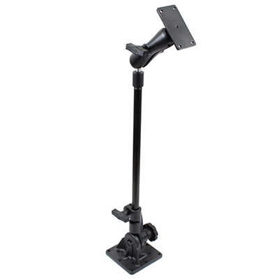 "RAM-101U-VE11 - RAM Pedestal Mount with 18"" Pipe and Rectangular Plate Adapter"