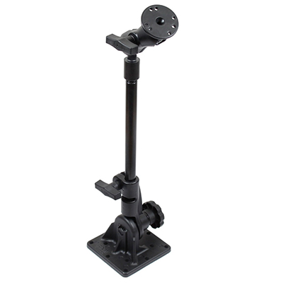 "RAM-101U-VE15 - RAM Pedestal Mount with 12"" Pipe and Round Plate"